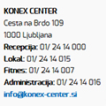 Začetek treningov v Konex centru