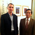 Sprejem pri veleposlaniku Japonske