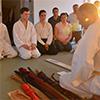Predstavitev katan (japonskih mečev)