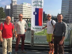 Aikikai Slovenije, delegacija
